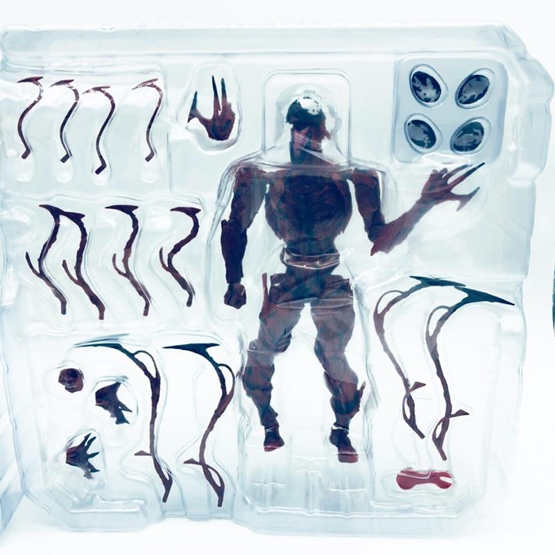 Revoltech Amazing Red Venom Carnage Amazing Captain America Spiderman Magneto Wolverine X-men Action Figures Toy Doll (48)