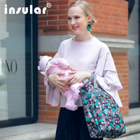 2018neweBaby Milk Bottle Insulation Bags Waterproof Thermos Bag Unicorn Pattern Thermal Bag for Baby Food Bottle Holder flamingo
