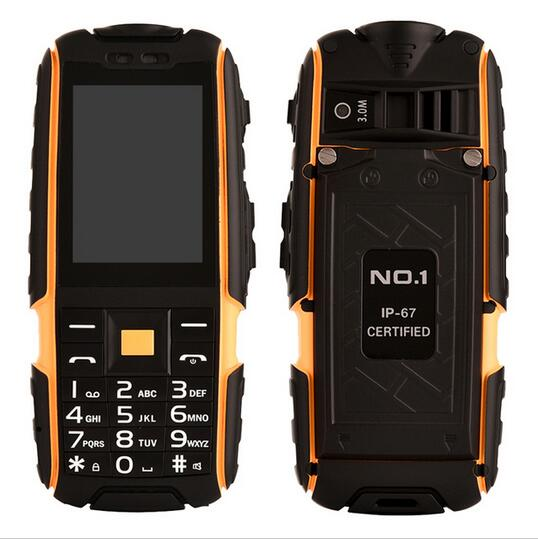 Original DTNO I A9 Russian keyboard IP67 Waterproof shockproof phone Dual SIM Card mobile cell phones