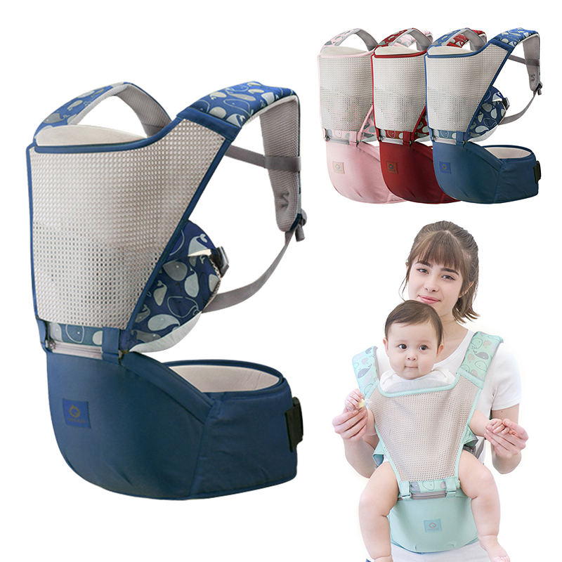 0-36M Baby Carrier Infant Baby Hipseat Carrier Front Facing Ergonomic Kangaroo Baby Wrap Sling Child Suspenders Backpack