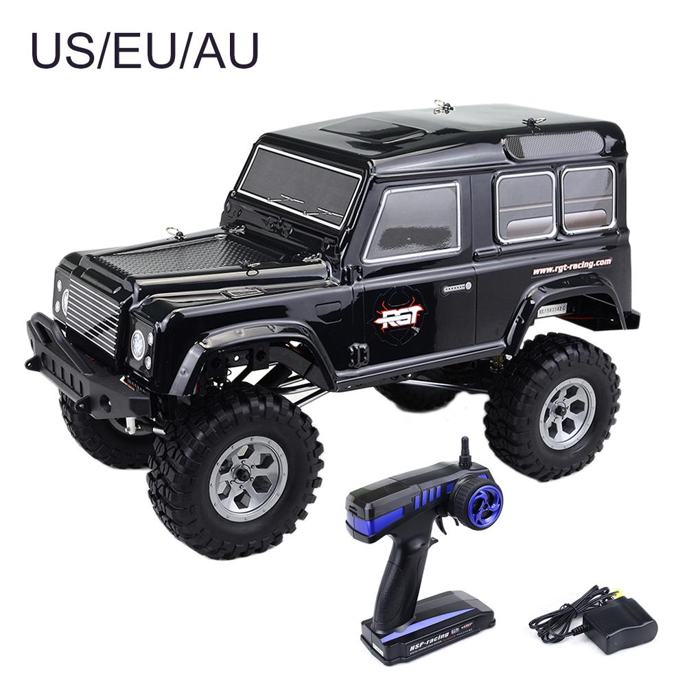 New Arrival 1:10 2.4G Remote Control Four wheel Drive Big Foot Off road Climbing Car Land Rover Car Shell Remote Control RC Car