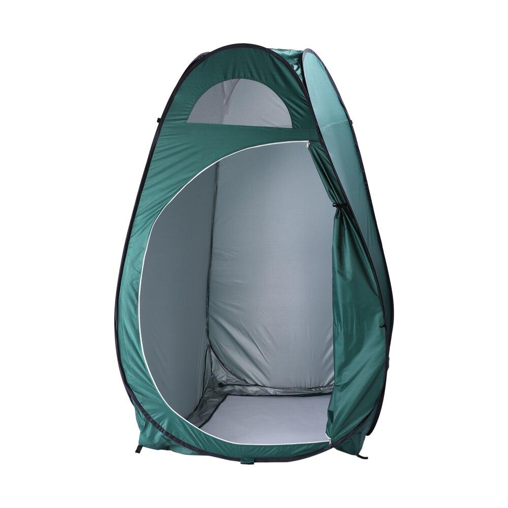 Portable extérieur Pop-up toilette Dressing cabine d'intimité abri tente armée vert tentes expédier de nous livraison gratuite xr-hot