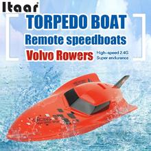 2.4G 4CH Radio Remote Control Electric RC Racing Boat Speedboat Ship Toy