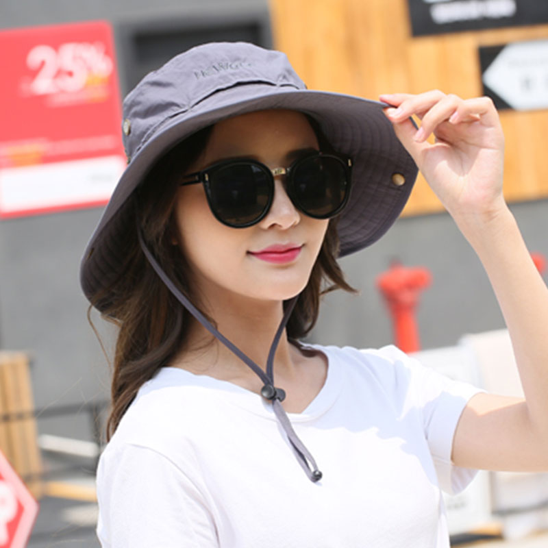 Hewolf Outdoor Sun protection Cap Men Women Anti Ultraviolet Sun Hat Fisherman Cap Anti UV Fishing