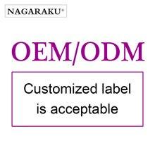 OEM / ODM acceptable eyelashes extension with custom design nutural long style false eyelashes hand made individual naga lashes