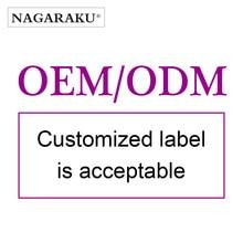 OEM / ODM מקובל ריסים הארכת עם מותאם אישית עיצוב nutural ארוך סגנון ריסים מלאכותיים יד אדם נאגה ריסים