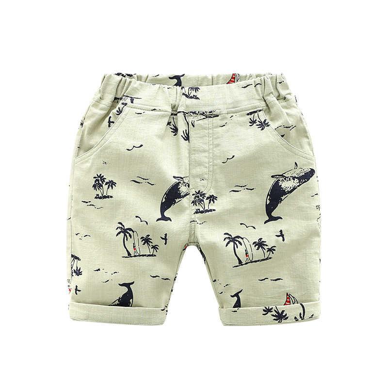 2018 Shorts Jungen Kinder Board Shorts Jungen Casual Badehose Kinder Kleidung Mode-stil Short Strand hosen
