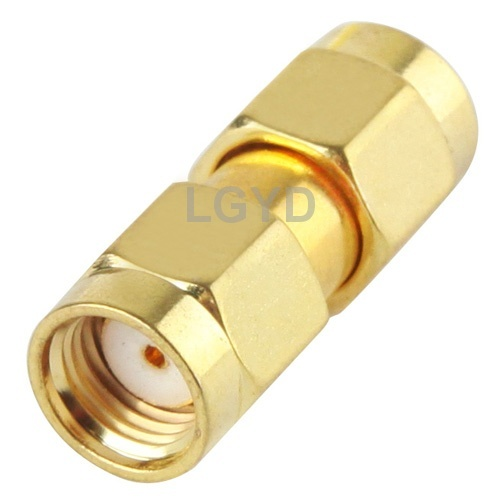 Gold Plated SMA Female to SMA Female Adapter