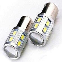 2pcs 12V 1156 BA15S P21W 5630 12SMD LED Lamp Turn Signal Reverse Tail Light