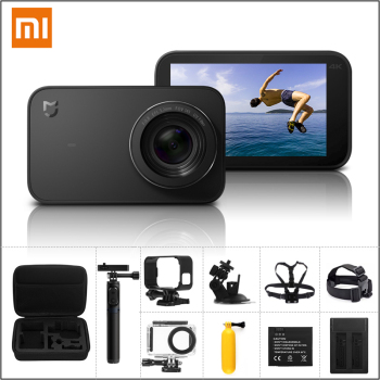 Original Xiaomi Mijia MI Action Camera 4K / 30FPS Ambarella A12S75 Smart Mini Sports Cam Bluetooth EIS WiFi 2.4