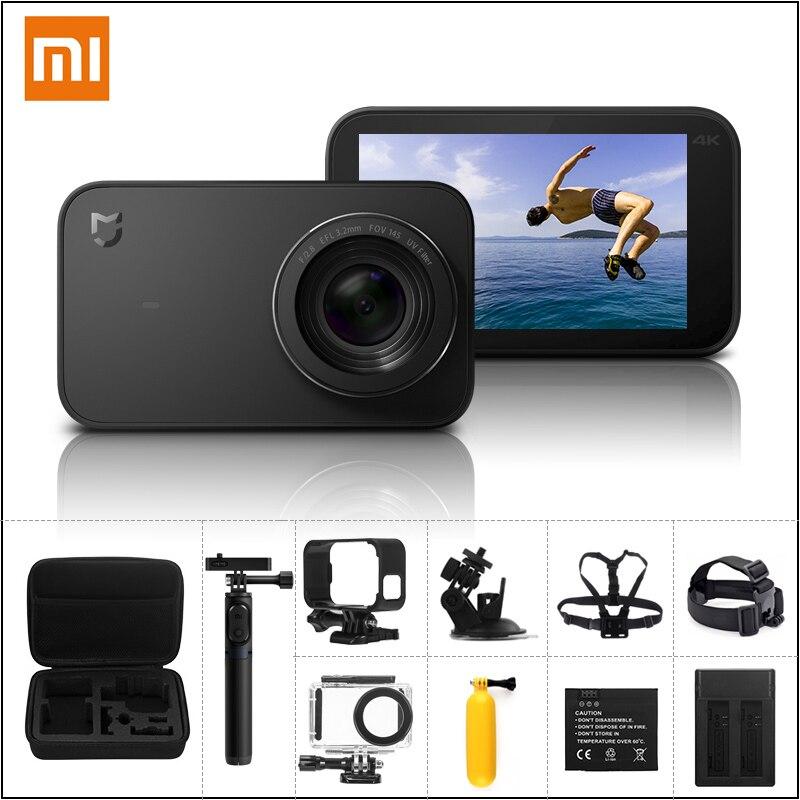 "Xiaomi Mijia Mi Motion Digicam 4K / 30Fps Ambarella A12S75 Good Mini Sports activities Cam Eis Wifi 2.4"" Contact Display screen Video Digicam"