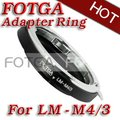 Adapter for Leica M Lens to micro M43 4/3 GH1 E-P1 G1 GF1