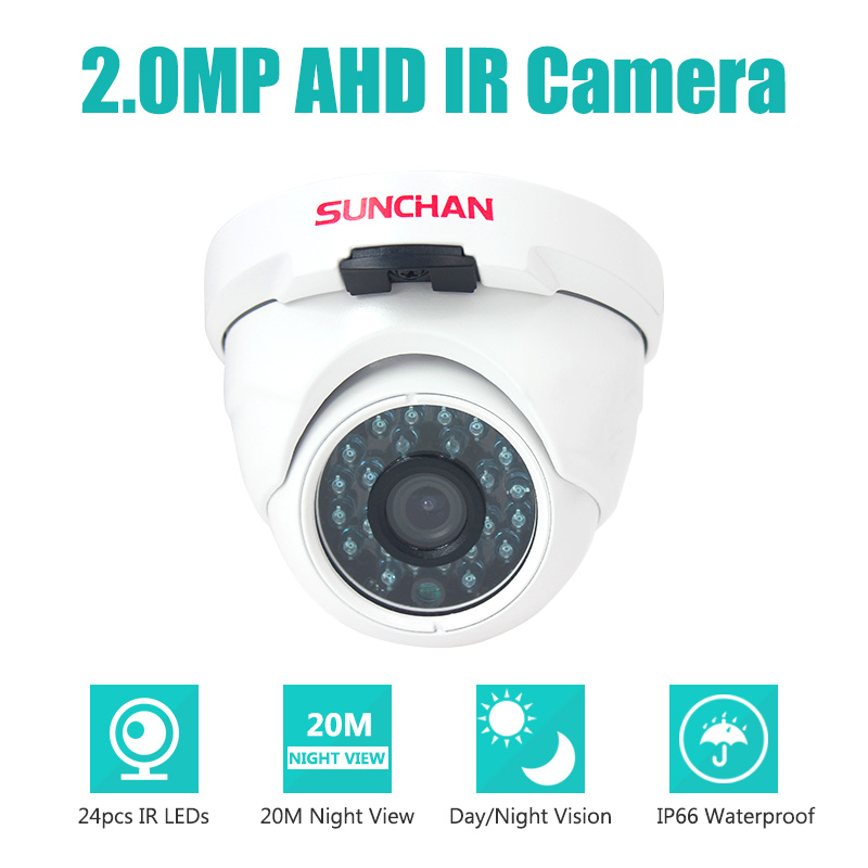 2MP 4-IN-1 AHD/TVI/CVI/960H CVBS 2000TVL CCTV Camera 1080P Full HD Day Night Vision IR Dome Outdoor Indoor Security Camera 4 in 1 ahd camera 720p 1080p hd cctv dome cvi tvi camera cvbs night vision cmos 2000tvl hybrid camera security osd menu switch
