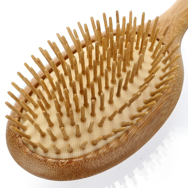 Health Care Wood massage Comb Hairbrush With Box Hairdressing Tangle Brush Comb For Women Hair Scalp Combs Fast Shipping 5