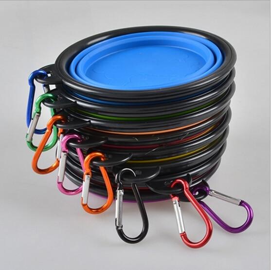 FD13 Qeni i ri për kafshët shtëpiake me silikoni Bowl kafshët - Produkte për kafshet shtëpiake - Foto 3