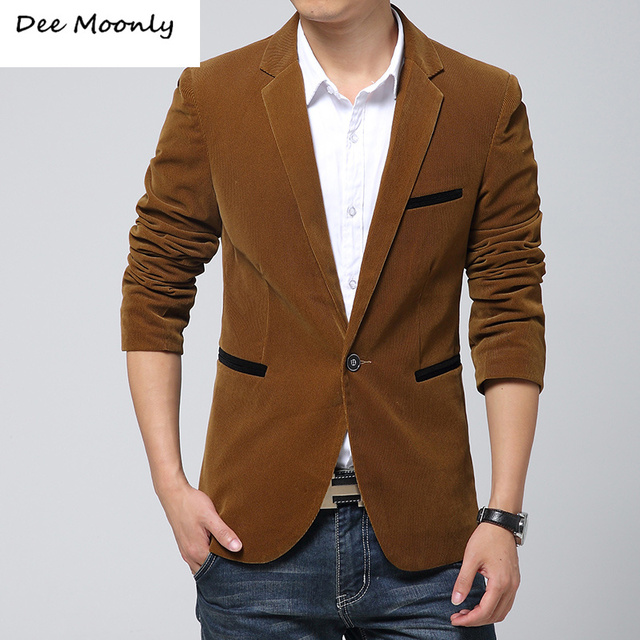 Aliexpress.com : Buy Hot sale Men slim fit casual corduroy blazers ...