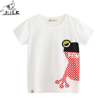 I. K 2018 neue ankunft Kinder Baby Kleinkind T-shirt Frosch shorts T-shirts Kinder Top Sommer Kostüm DT26001B