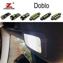 7 шт. x хорошая ошибка светодиодный Светодиодная лампа интерьерная купольная Лампа Комплект для 2017-2000 Fiat Doblo карта купольная Магистральная лампа