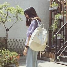 3b29b8ad02688 Cute Kawaii backpack women Canvas Backpacks For Teenage Girls bag Vintage  Harajuku Backpack white School Backpack