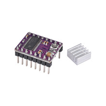 1 pcs Reprap Stepstick Drv8825 Stepper Motor Driver Placa PCB 4 Camadas Acessórios Do Dissipador de Calor para impressora 3D