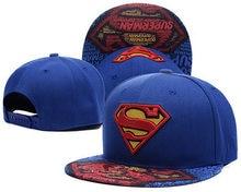Unisex Superman Logo gorra de béisbol ajustable de los hombres Gorras  pareja al aire libre ocasionales del casquillo Sunhat Hip . 550a92aecb5