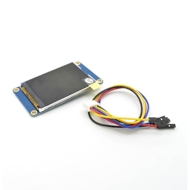 2 2'' 2 2 inch tft screen integrated serial USART HMI Smart character GPU  TFT LCD Module 240*320