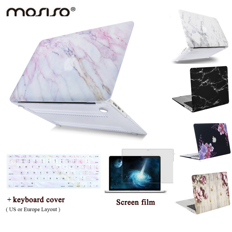 promo code da8a7 84ce8 MOSISO Laptop Shell for MacBook Air 13inch 2010-2017 Marble Pattern Plastic  Hard Cover Case for MacBook Retina Pro13 A1425/A1425