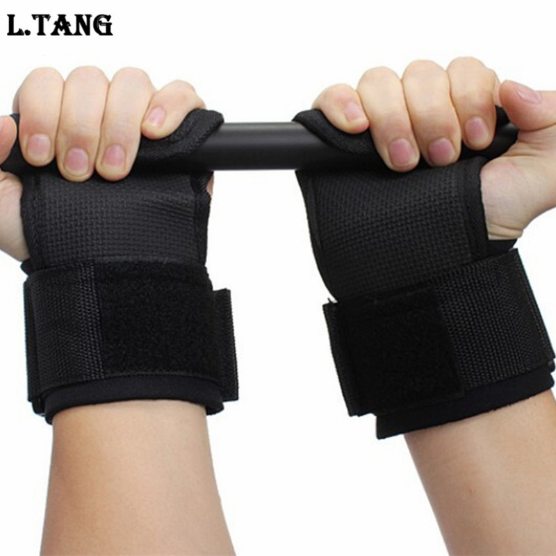 1 Pair Weight Lifting Hand Bar Grips Straps Wrist Support: Aliexpress.com : Buy Hands Wrist Pads Support Protector