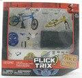 NUEVA Finger Flick Trix Bmx Bike Deluxe Paquete SÍ Raoing FT bikeshop Aleación modelo de bicicletas Mini juguete para niño
