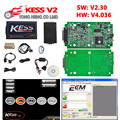 Hot Sell KESS V2 V2.30 4.036 HW V4.036 MASTER OBD2 Manager Tuning Kit No Token Limitation ECM Titanium software Chip Tuning Tool