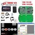 Hot Vender V2.30 4.036 HW V4.036 MESTRE KESS V2 OBD2 Gerente sintonia kit sem token limitação software ecm titanium ferramenta chip tuning