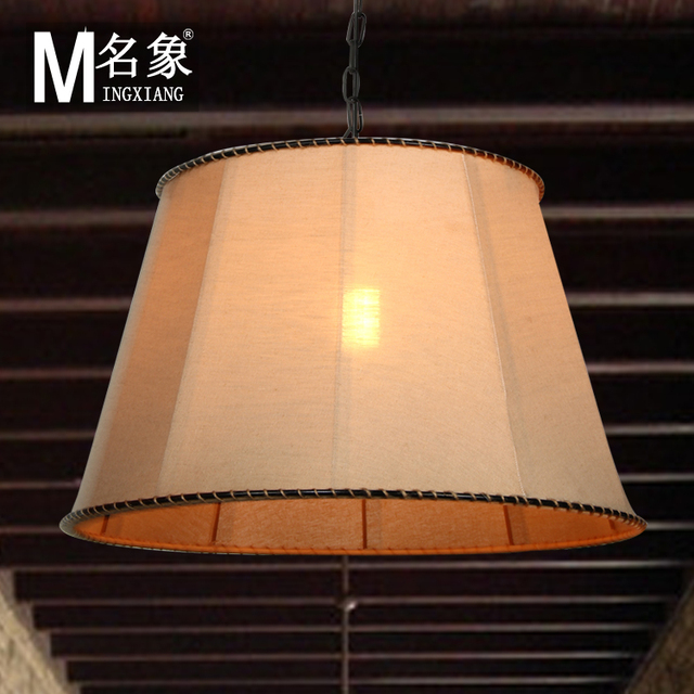 IKEA living room chandelier lamp chandelier lamp cover cloth cloth ...