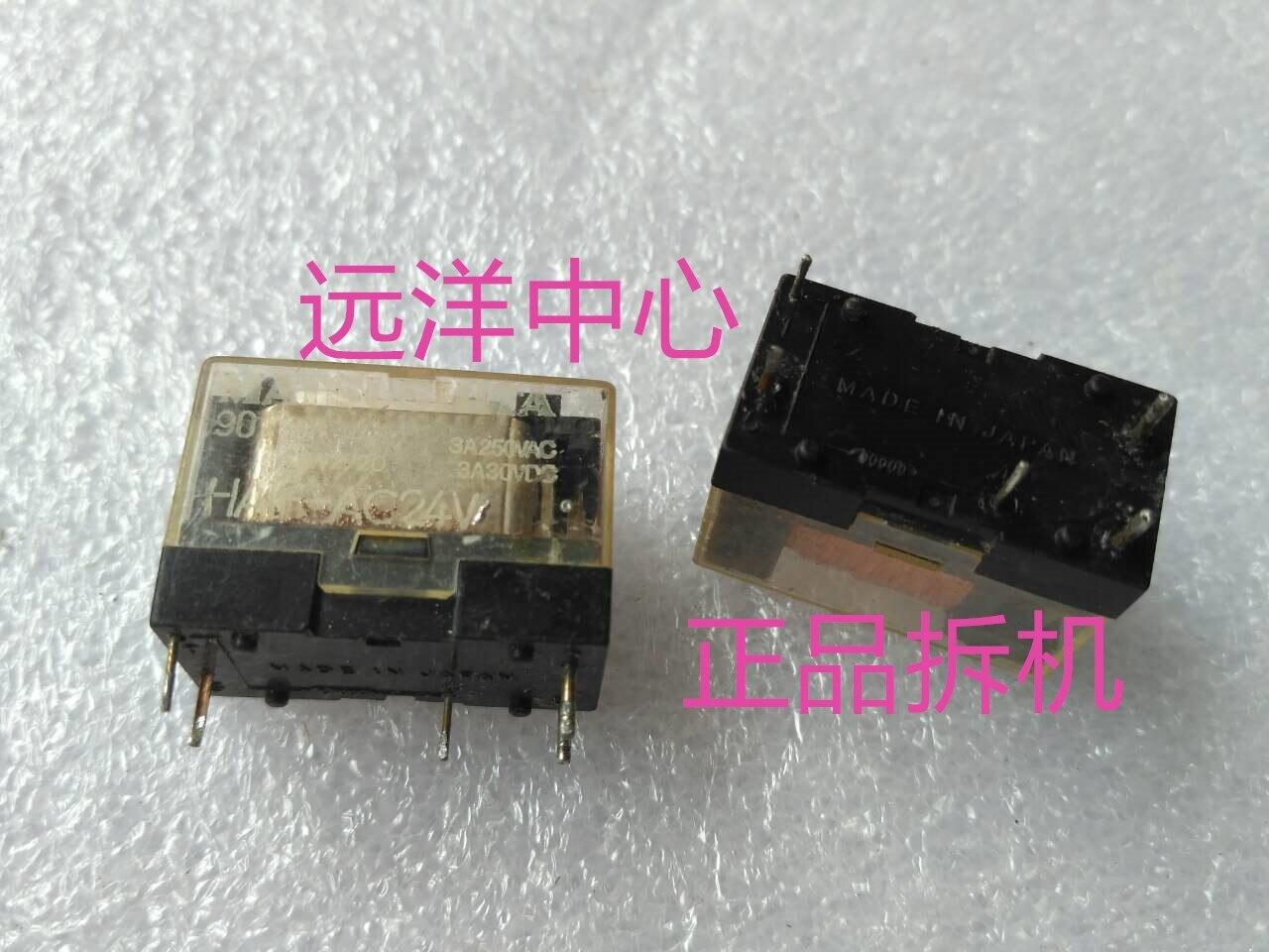 HA1F-AC24V  3A250VAC 30VDC  5