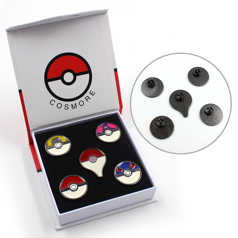5pcs-set-game-pocket-monster-font-b-pokemon-b-font-poke-ball-gengar-metal-badges-pin-brooch-chest-button-ornament-gift-box-otaku-collection