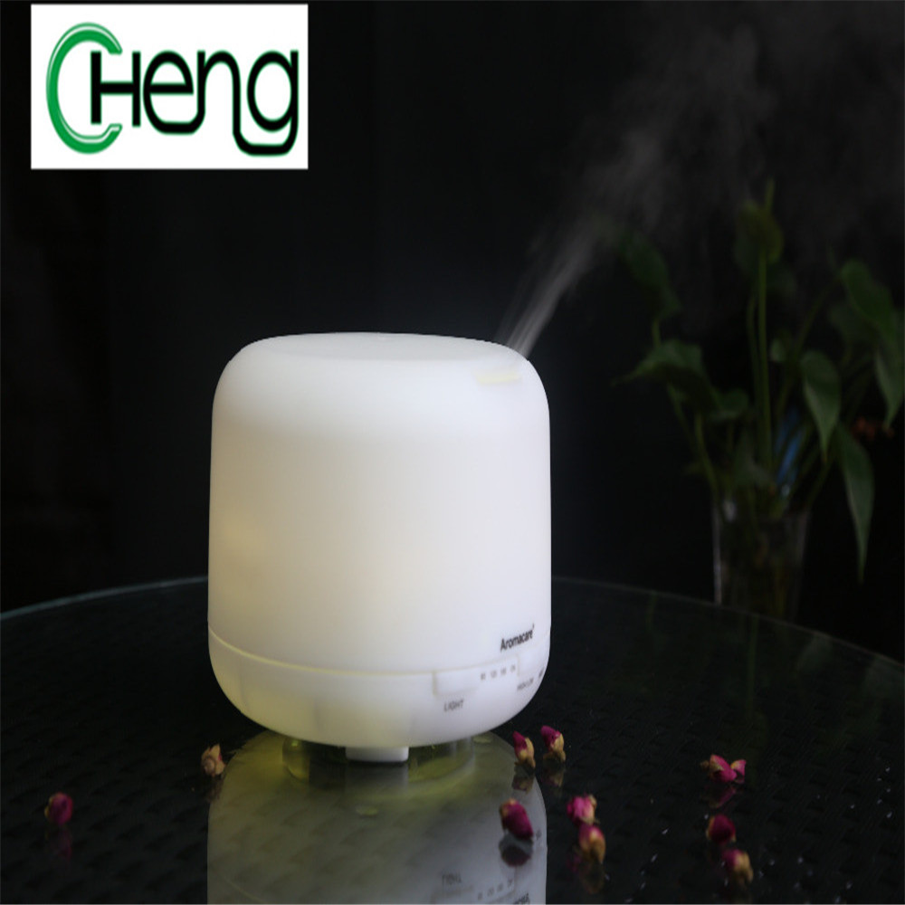 500ml Brand new multi color change Portable Ultrasonic Mini Aromatherapy Mute Home Humidifier Atomizing Humidifier Air Purifier floor style humidifier home mute air conditioning bedroom high capacity wetness creative air aromatherapy machine fog volume