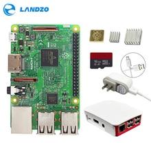 Raspberry Pi 3 Starter Kit -pi 3 board / Original Official case / 16 G micro SD card / 5V2.5A US Power Supply / logo heat sink