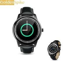 Full HD IPS Tela DM365 Luxo Smartwatch Bluetooth Relógio Inteligente Relógio de Pulso para Iphone Samsung S4/Note 2/3 Huawei Sony Xiaomi