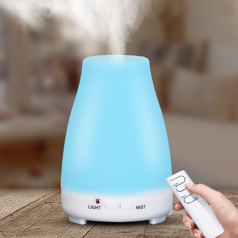 200ml  Electric Aroma Diffuser Air Humidifier Essential Oil Diffuser Aroma Lamp Aromatherapy Mist Maker With Remote Control|Humidifiers| |  - title=