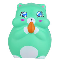 Squishy Antistress Kawaii Cartoon Squirrel Slow Rising Cream Scented Stress Relief Toy poopsie slime surprise Mushy Toy A604