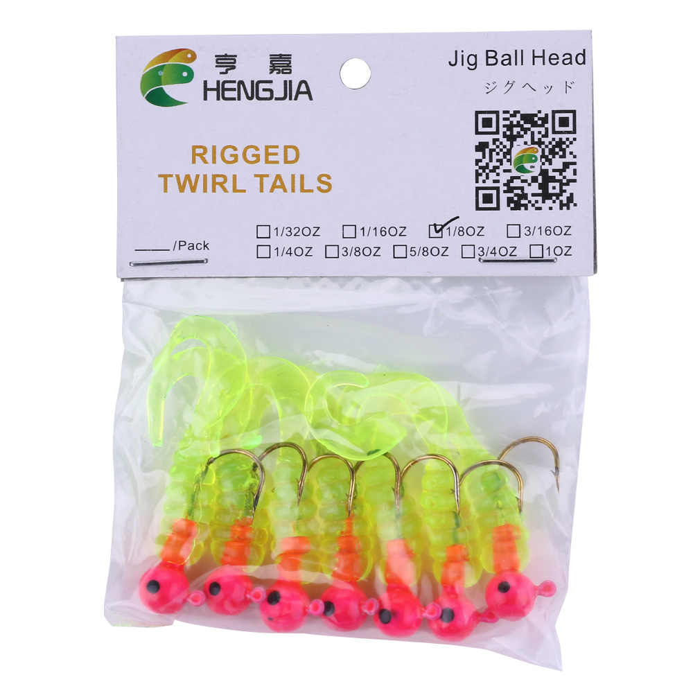 7 sztuk 3.75g 4.5 cm RCT główka ołowiowa haczyk wędkarski z miękkiej gumy grub połowów przynęty wobble pike pesca fishing bati sprzęt wędkarski