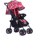 Fold the stroller can sit can lie pram baby cart lightweight portable baby carriage