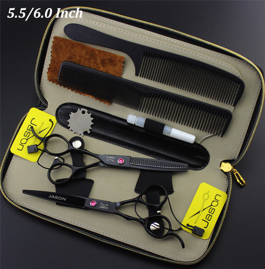 High Quality 5.5/6 Inch Professional Hair Scissors Left Handed Barber Cutting Shears Hairdressing Salon Tools Set siketu 2017 free shipping spring and autumn women shoes sex high heels shoes wedding shoes sweet lovely pumps g126