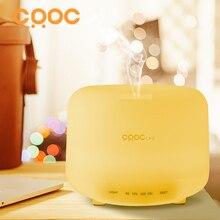 CRDC 500 ml luz LED 7 Cambio de Color Seco Proteger Ultrasonidos Difusor de Aroma de Aceite Esencial Humidificador de Aire Fabricante de La Niebla