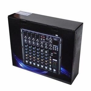 Image 5 - FREEBOSS SMR8 Bluetooth USB שיא 8 ערוצים (4 מונו + 2 סטריאו) 16 DSP אפקטים USB המקצועי DJ מיקסר