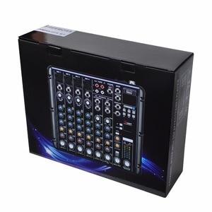 Image 5 - FREEBOSS SMR8 Bluetooth USB nagrywanie 8 kanałów (4 Mono + 2 Stereo) 16 efektów DSP USB profesjonalny konsoleta DJ