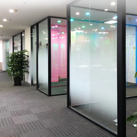 1.52x5m Semi Privacy White Dot Window Film Gradient Glass Film Semi Privacy Shield One Way Gradient house Office Use
