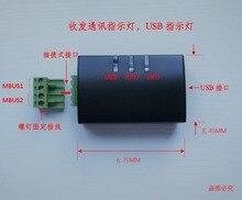 USB a MBUS slave, ¡solución IC completa! Indicador de comunicación, indicador de potencia. ¡Módulo MBUS!