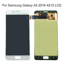 Y-HOIVA LCD for Samsung Galaxy A5 2016 A510 LCD Display A510F A510M A510FD Touch Screen Digitizer Assembly LCD Replacement Parts for samsung galaxy a9 a9000 lcd display touch screen digitizer assembly white replacement pantalla parts