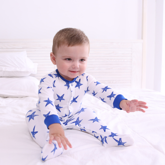 Baby Boy Rompers Sleeve Long Roupas Fantasia Clothes For Baby Boom Newborn Romper Set Long Sleeved  One Piece 707077