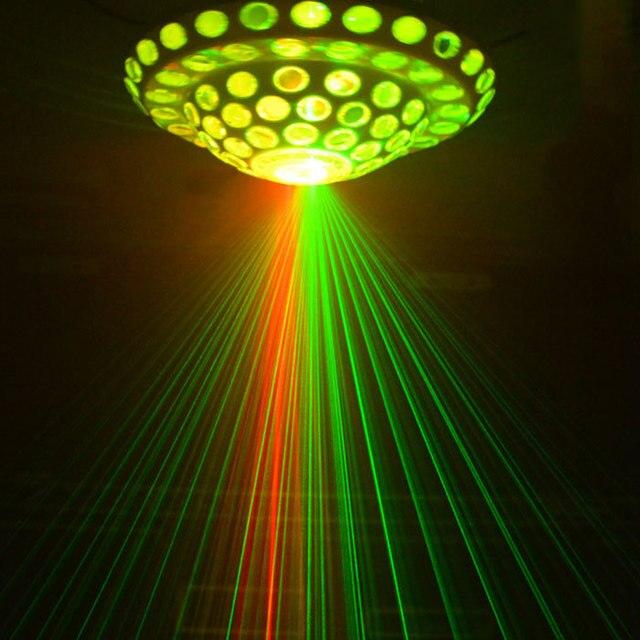 Этап лампы лазерная лампа КТВ флэш Танцевальный зал свадебный бар красить вращающегося света